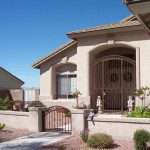 Iron gates and security doors really work to protect your home.