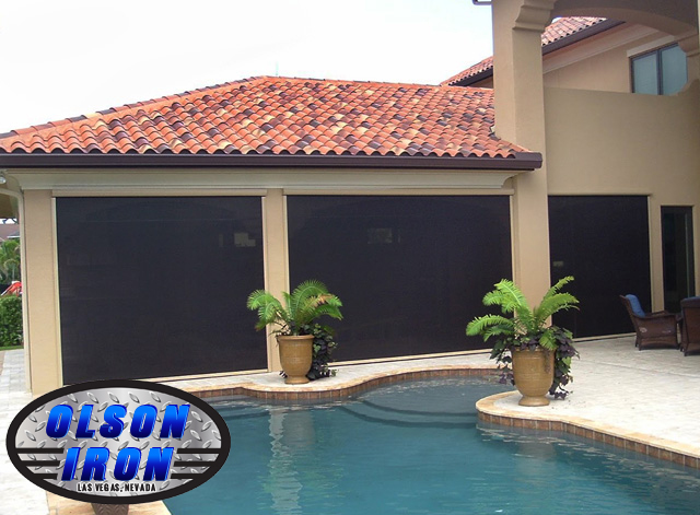 Las Vegas Rolling Shutters and Drop Shades | Residential and ...