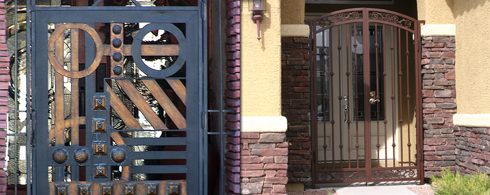 Custom Wrought Iron Stair Rails By Olson Iron Las Vegas