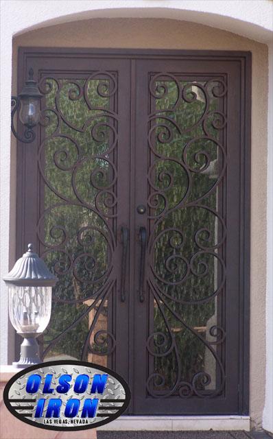 Las Vegas Iron Doors Amp Gates Custom Wrought Iron Gates