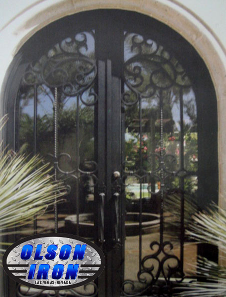 Las Vegas Iron Doors Amp Gates Custom Wrought Iron Gates