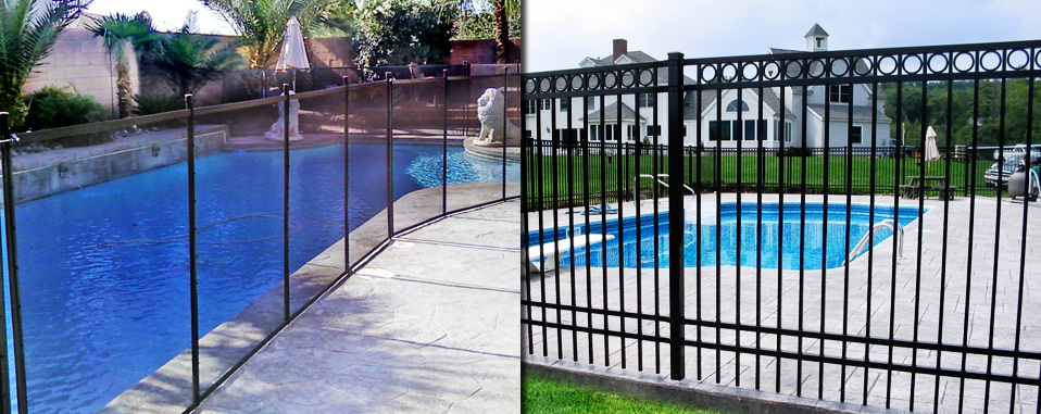 Pool Fence Las Vegas; Wrought Iron Privacy Fence Las Vegas ...