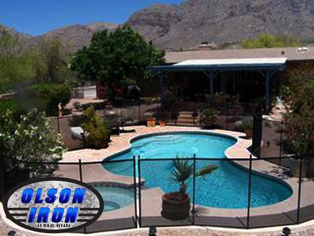 Las Vegas Pool Fencing Wrought Iron Privacy Fence Repair