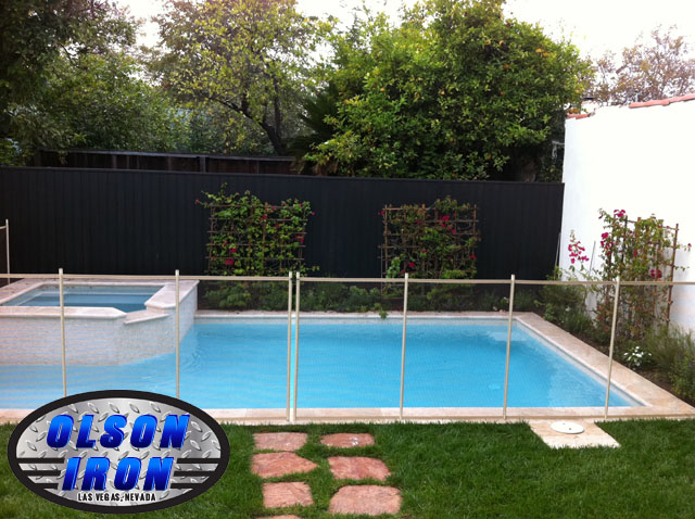 Las Vegas Pool Fencing | Wrought Iron Privacy Fence Repair