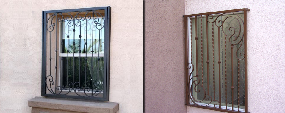 Security Doors Las Vegas Wrought Iron Window Guards
