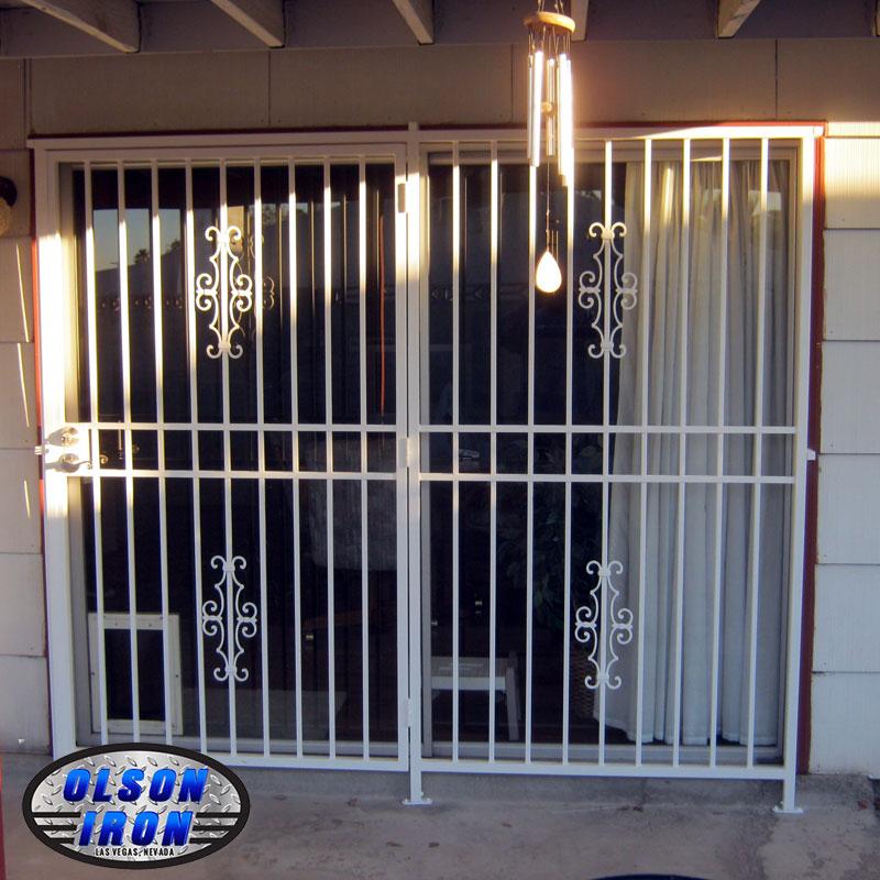 Las vegas security doors window guards wrought iron