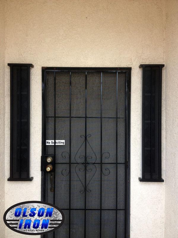 Las Vegas Security Doors Amp Window Guards Wrought Iron