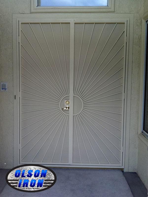 Security Bars For French Patio Doors: Las Vegas Security Doors & Window Guards