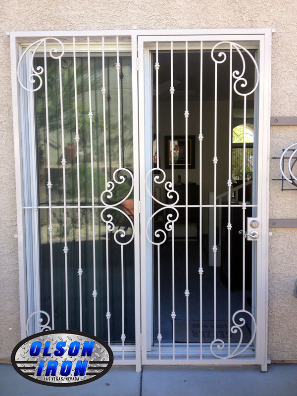 Las Vegas Security Doors Amp Window Guards Wrought Iron