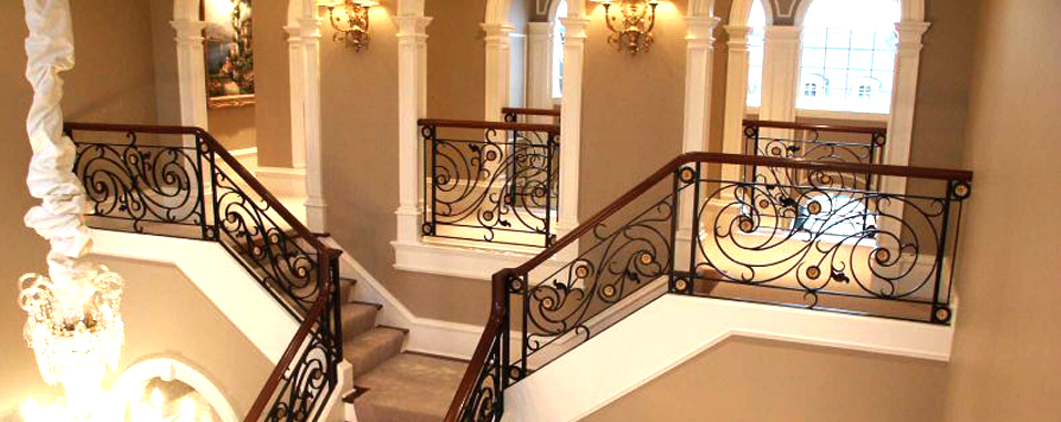 Wrought Iron Stair Railing Las Vegas