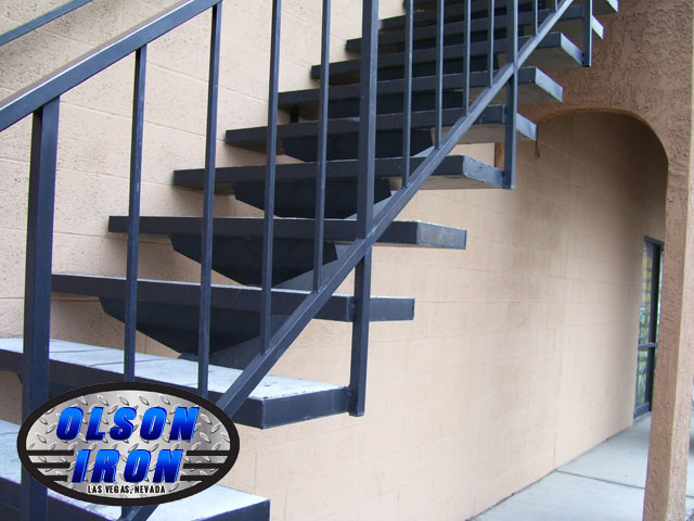 Iron Stairs Amp Spirals Las Vegas Custom Wrought Iron