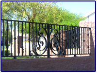 Iron Fencing by Olson Iron in Las Vegas Nevada