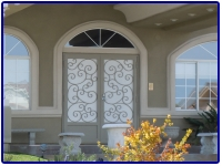 Iron Security Doors and Window Guards by Olson Iron in Las Vegas Nevada