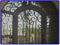 Iron Doors by Olson Iron in Las Vegas Nevada
