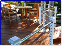 Stainless Steel Railing by Olson Iron in Las Vegas NV