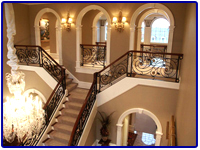 Iron Stair Rails in Las Vegas NV
