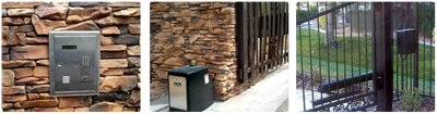 Upgrade your driveway gate from manual to electric by installing gate operators with keypads and push button openers.