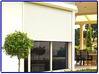 Rolling Shutters and Drops Shades by Olson Iron in Las Vegas NV