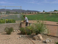 Custom Wrought Iron Gates, Doors, Fences, Art and Rails by Olson Iron Inc., Las Vegas, Nevada
