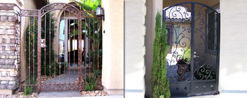 Las Vegas Iron Gates Fence Companies Wrought Iron