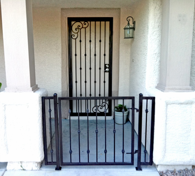 Customer Testimonials of Olson Iron | Custom Wrought Iron Design and Fabrication for Residential and Commercial - Rails Gates Doors Fencing and Spiral ... : door gates - pezcame.com