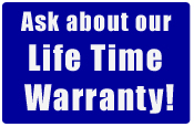 Olson Iron, Inc. provides Lifetime Warranty on all its custom wrought iron products.